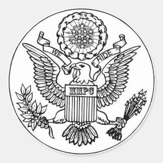 Yo Y MI PEGATINA del escudo de PAL CHRIS