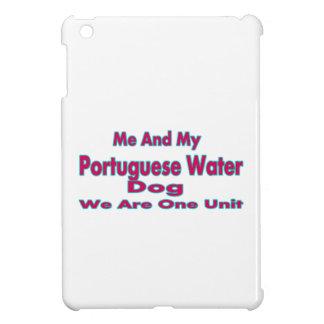 Yo y mi perro de agua portugués