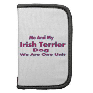 Yo y mi perro de Terrier irlandés Planificador