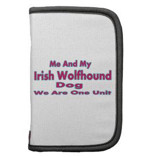 Yo y mi perro del Wolfhound irlandés Organizadores