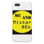 Yo y señor 80s - logotipo del punto iPhone 5 carcasa
