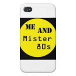 Yo y señor 80s - logotipo del punto iPhone 4/4S funda