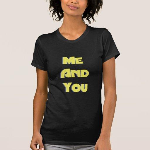 Yo y usted 5 camisetas
