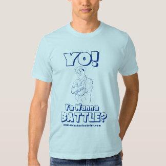 ¡Yo! ¿Ya quiere luchar? Camiseta Playera