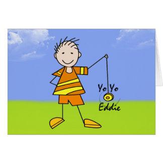 Yo Yo Eddie Card