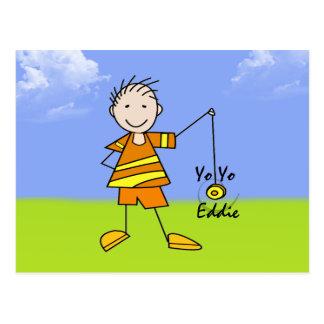 Yo Yo Eddie Postcard