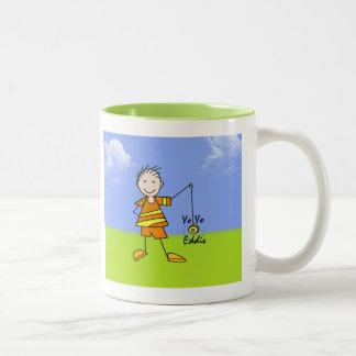 Yo Yo Eddie Two-Tone Coffee Mug