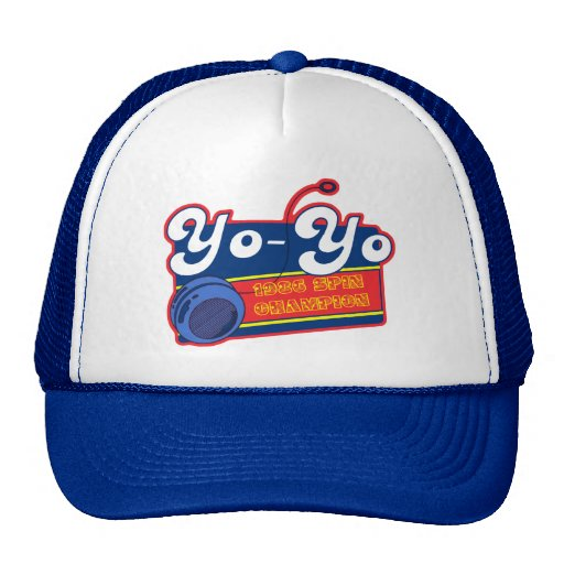 Yo-Yo Spin Champion Trucker Hat