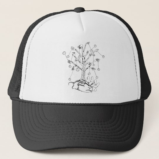 Yo-Yo Tree Trucker Hat