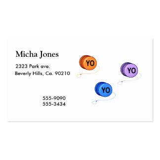 Yo Yo Yo Business Cards