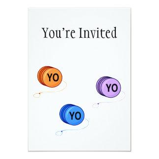 Yo Yo Yo Card
