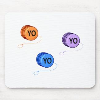 Yo Yo Yo Mouse Pad