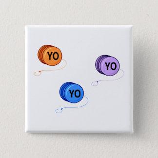 Yo Yo Yo Pinback Button