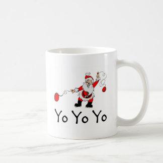Yo Yo Yo Santa Classic White Coffee Mug