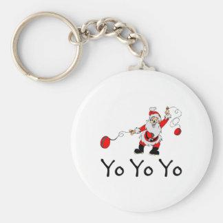 Yo Yo Yo Santa Keychain