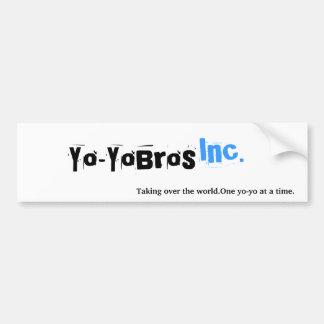 Yo-YoBros, Inc., etiqueta engomada de parachoques Pegatina Para Auto