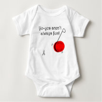 Yo-Yo's aren't always fun Baby Bodysuit
