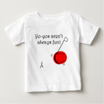 Yo-Yo's aren't always fun Baby T-Shirt