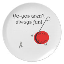 Yo-Yo's aren't always fun Dinner Plate