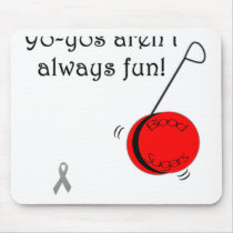Yo-Yo's aren't always fun Mouse Pad