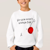 Yo-Yo's aren't always fun Sweatshirt