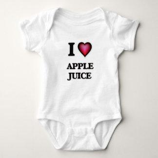 Yo zumo de manzana de amor body para bebé