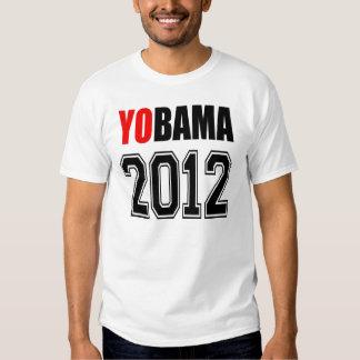 YOBAMA 2012 - Yes to Obama 2012 T Shirt