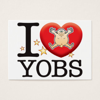Yobs Love Man Business Card