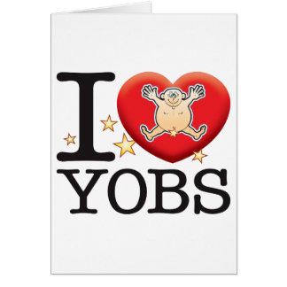 Yobs Love Man Card