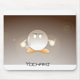 Yochami round mouse pad
