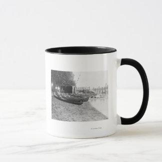 Yocum Canoe House, Arlington Beach Park Mug