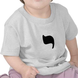 """YOD - Hebreo para la letra """"Y """" Camisetas"""