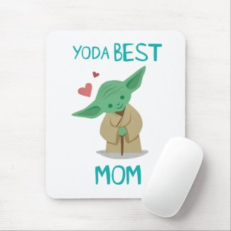 Yoda Best Mom Mouse Pad