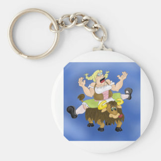 Yodel me this keychain