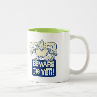 Yodelberg Mickey | Beware the Yeti Two-Tone Coffee Mug