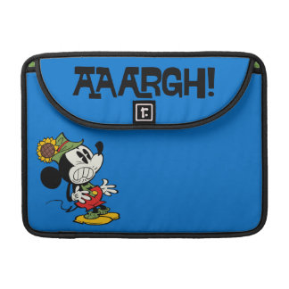 Yodelberg Mickey | Clenching Teeth MacBook Pro Sleeve