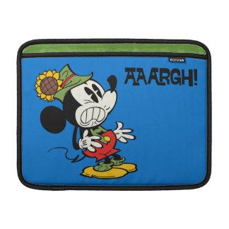 Yodelberg Mickey | Clenching Teeth MacBook Sleeves