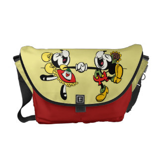Yodelberg Mickey | Holding Hands Courier Bag