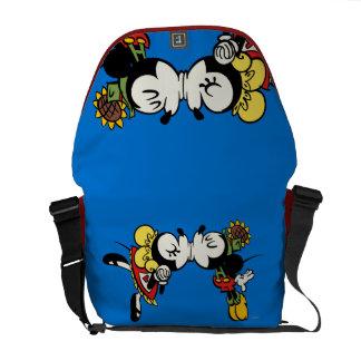 Yodelberg Mickey | Kissing Courier Bag