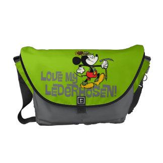 Yodelberg Mickey | Lederhosen Messenger Bag