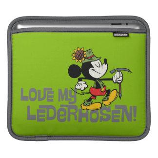 Yodelberg Mickey | Lederhosen Sleeve For iPads