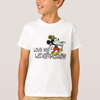 Yodelberg Mickey | Lederhosen T-Shirt