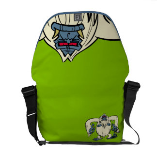 Yodelberg Mickey | Red-Eyed Yeti Courier Bag