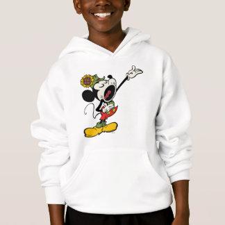 Yodelberg Mickey | Singing with Arm Up Hoodie