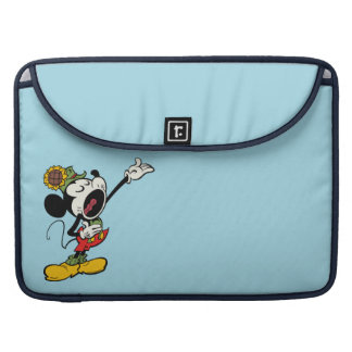 Yodelberg Mickey | Singing with Arm Up Sleeve For MacBook Pro