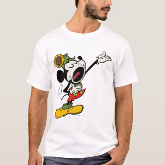 Yodelberg Mickey | Singing with Arm Up T-Shirt