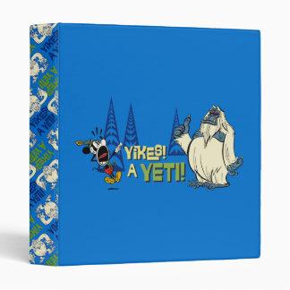 Yodelberg Mickey | Yikes - a Yeti! Binder