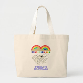 Yodeling doble Narwhals del arco iris Bolsa