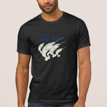 yodeling narwhals tee shirt