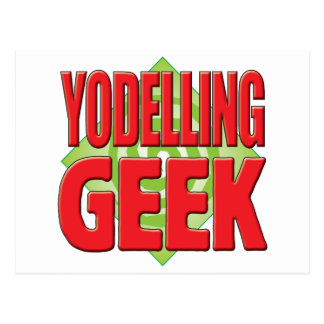 Yodelling Geek v2 Postcard